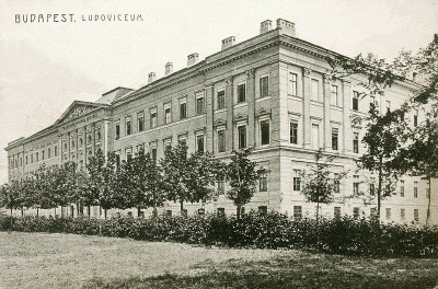 Budapest, Ludoviceum 1913