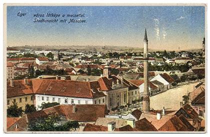 Eger, Minaret tér